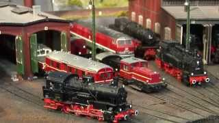 Amazing Model Railroad Layout in HO Scale with Cab Passenger Ride(This amazing model railroad layout in HO scale is not an exhibition, but a private model train layout. It is a perfect model railway because all areas of the layout ..., 2014-08-08T05:48:30.000Z)