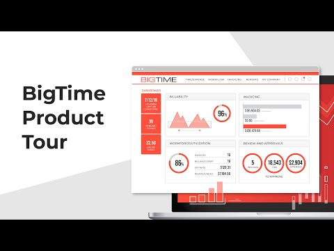 Bigtime Product Tour