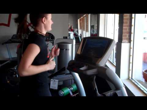 Jen On The Vision TF-40 Treadmill