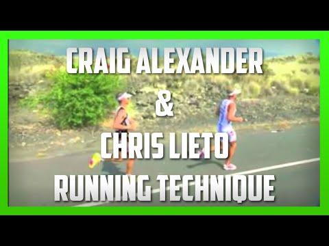 Craig Alexander & Chris Lieto - Running Technique Analysis by Kinetic Revolution