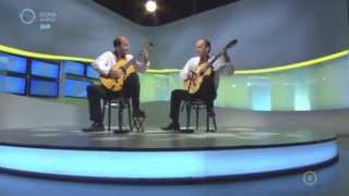 "Double Paraphrase (Ferenc BERNÁTH-Mihajlo VIHULA) play ""Ukrainian Fantasy"" LIVE in Duna World TV"