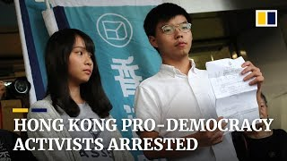 Hong Kong police target high-profile activists in wave of arrests amid anti-government protests