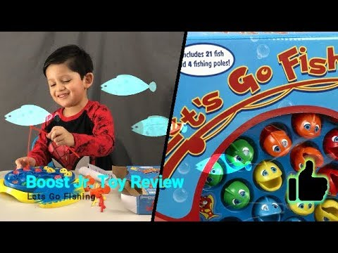 Let's Go Fishing Toy Review