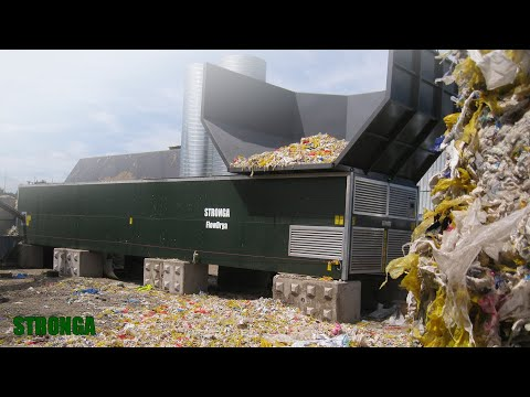 Stronga FlowDrya | Drying shredded waste | Waste to Energy
