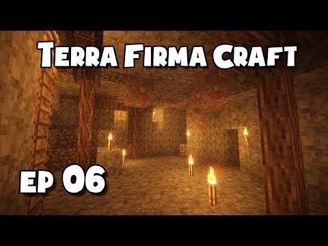 TerraFirmaCraft - #6 - Prospecting (Fools Gold)