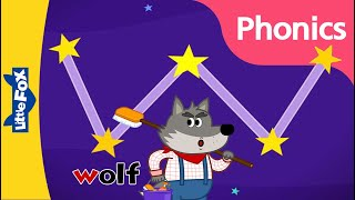 Phonics Song | Letter Ww | Phonics Sounds Of Alphabet | Nursery Rhymes For Kids