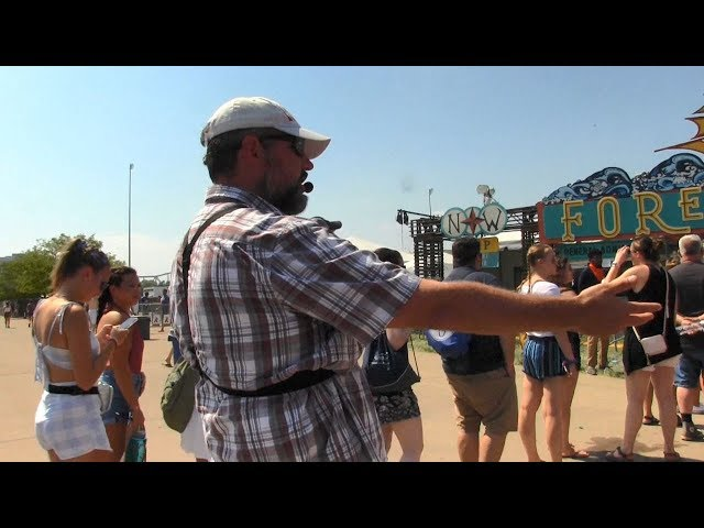 2018 WICKED Forecastle Music Festival - Louisville, KY - Street Preaching - Kerrigan Skelly