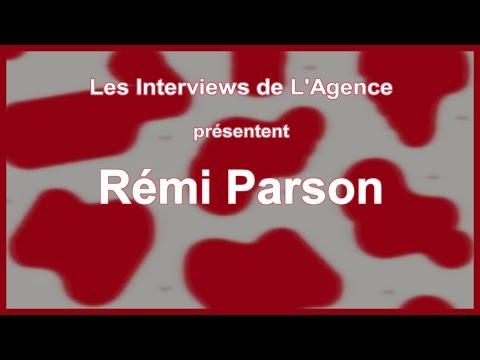 """Les Itw de L'Agence : REMI PARSON + live """"Machine à vivre"""""""