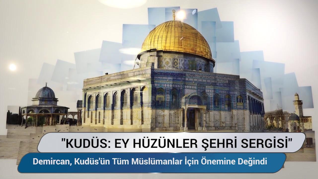 Kudüs: Ey Hüzünler Şehri Sergisi Beyoğlu'nda açıldı