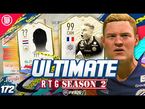 I'M GETTING THIS ICON!!!! ULTIMATE RTG #172 - FIFA 20 Ultimate Team Road to Glory
