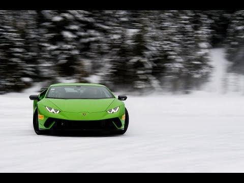 $400 k Lamborghini on Ice | Sideways is life | Justin Bell TV