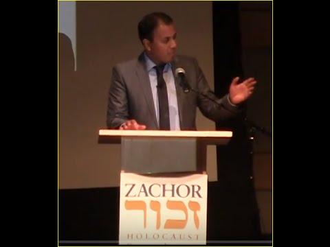 "Pakistani-German prosecutes Nazis for war crimes against Jews- Khubaib ali Muhammed at ""Zachor"""