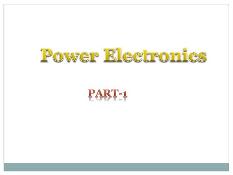 power electronics part1