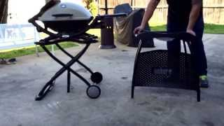 Weber Q Cart Vs Stand Comparison