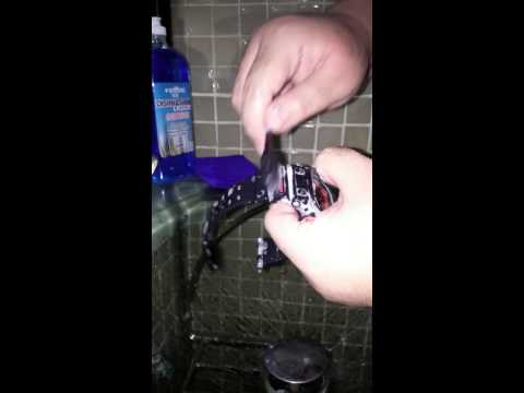 How to properly wash your gshock