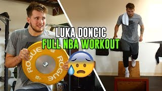 Luka Doncic FULL WORKOUT! How He Is Preparing For His FIRST NBA Season 🔥