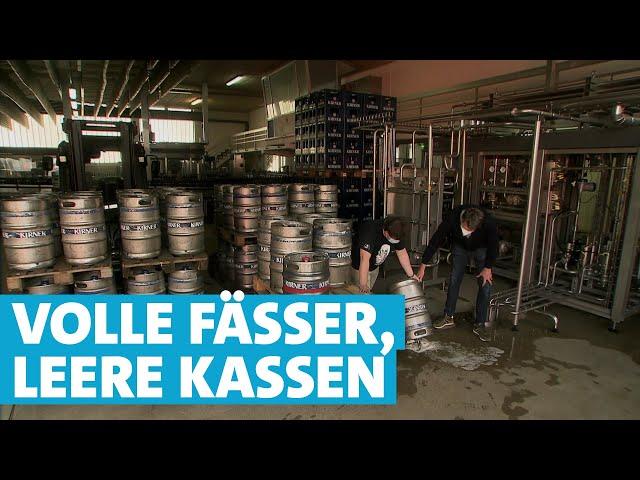 Wie eine regionale Brauerei während der Pandemie ums Überleben kämpft