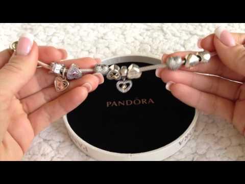 Мои браслеты Pandora ....