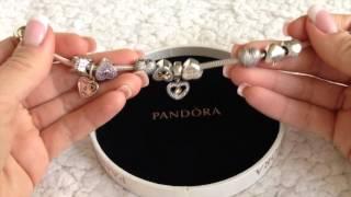 Смотреть видео пандора браслет