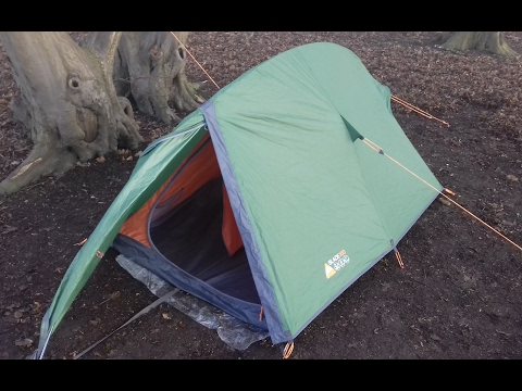 WILD CAMPING WITH THE VANGO BLADE 100 TENT (6/2/17)