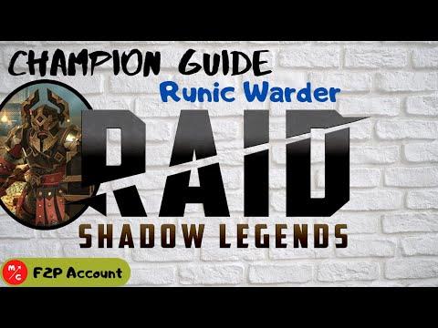 [F2P]   Runic Warder Raid Shadow Legends Champion Guide