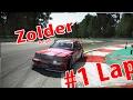 [movie edition] Zolder Belgien   #1 Lap   Project CARS [Mercedes Benz 190E 2.5-16 Evolution2 DTM]