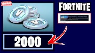 FORTNITE-2000 V BUCKS FOR YOU IN SEASON 6!