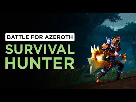Survival Hunter   WoW: Battle for Azeroth - Alpha [1st Pass]