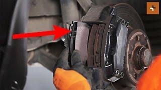 Substituição Calços de travão Discos de freio de bricolage - vídeo online