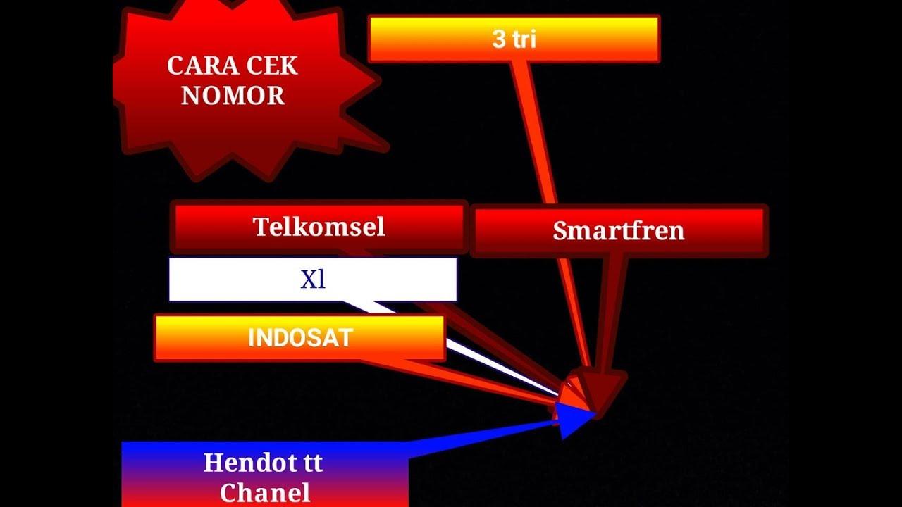 Cara Cek Nomor Telkomsel Xl Indosat Smartfren Youtube