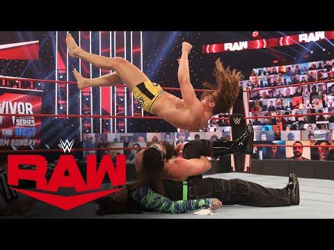 Jeff Hardy vs. Riddle vs. Elias – Triple Threat Survivor Series Qualifying Match: Raw, Nov. 9, 2020