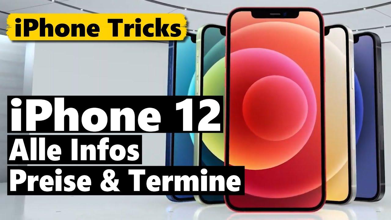 iPhone 12 (Mini & Pro) vorgestellt - ALLE Infos, Preise & Termine