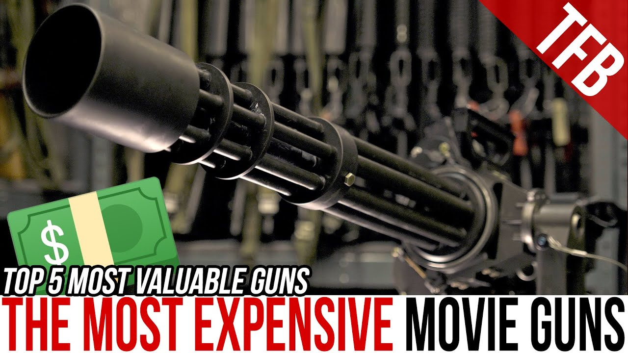 The Top 5 Most Expensive/Valuable Guns from Movies