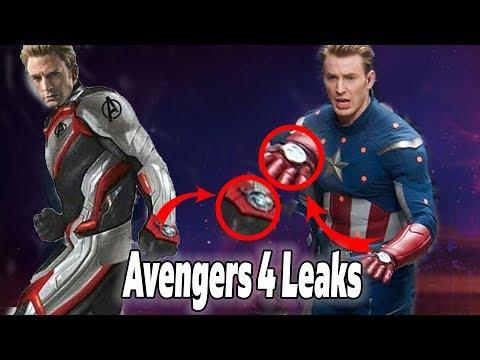 NEW Avengers 4 Leaked Photos! Crazy Theory Explained!