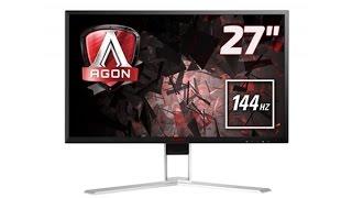 aoc agon ag271qx 27 1440p freesync 144hz gaming monitor review