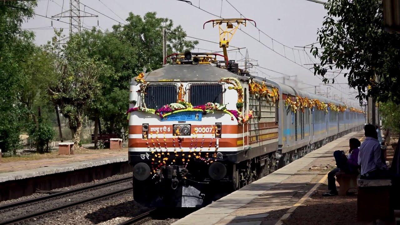 """[HD] Indian Railways """" BULLET TRAIN """" Inaugural Run : High"""