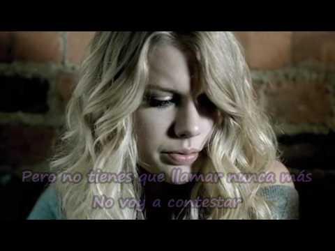 You're not sorry - Taylor Swift - en español