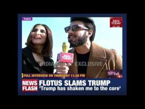 Ranveer Singh & Vaani Kapoor Talks Exclusive On Befikre From Paris