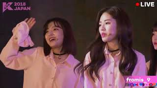 180415 Fromis_9 - KCON Japan Fanmeeting