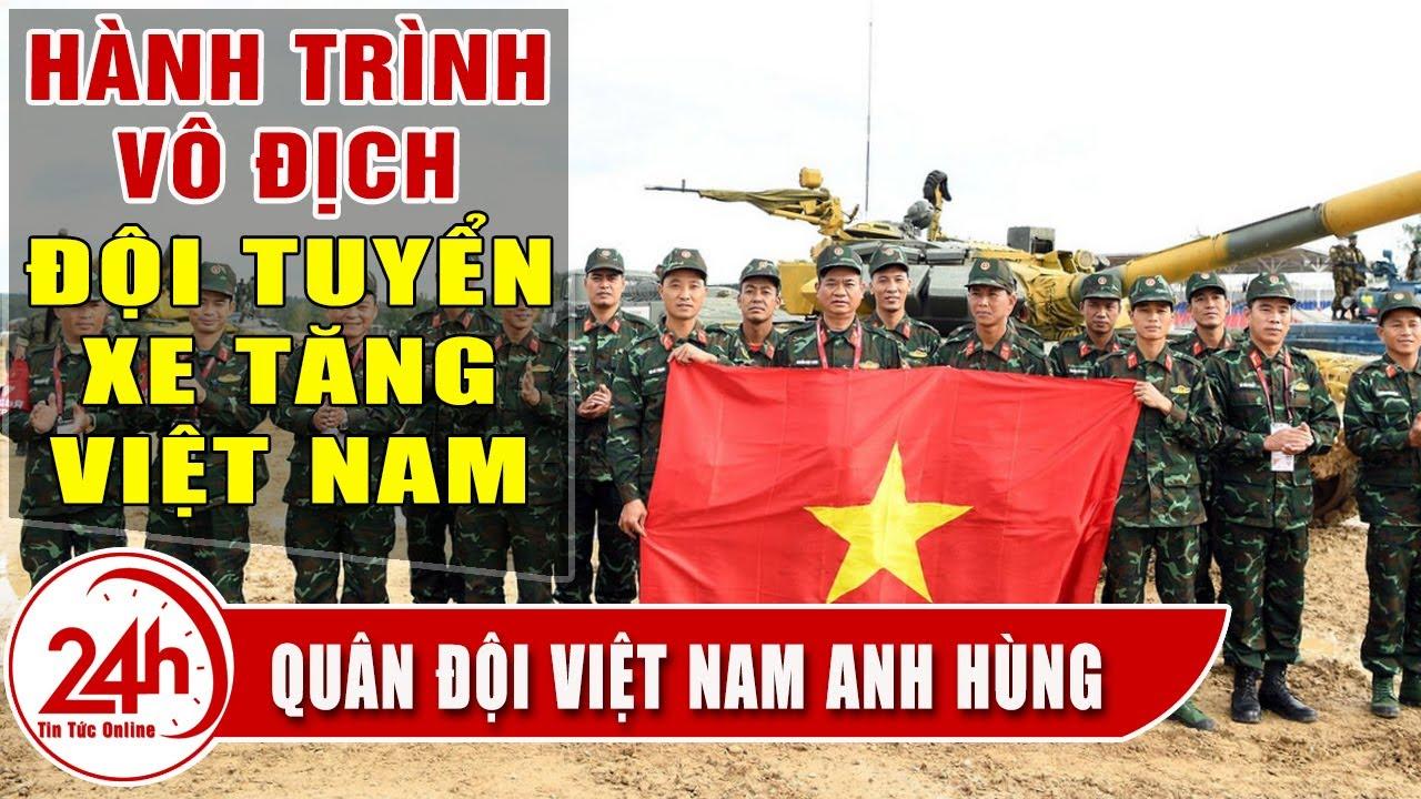 Army Games 2020 Tổng hợp hành trình đội tuyển xe Tăng Việt Nam Vô Địch thế nào