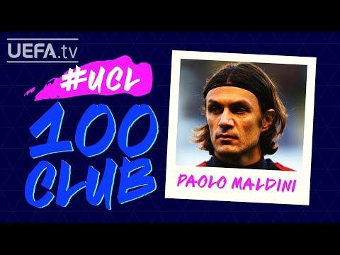 PAOLO MALDINI: #UCL 100 CLUB