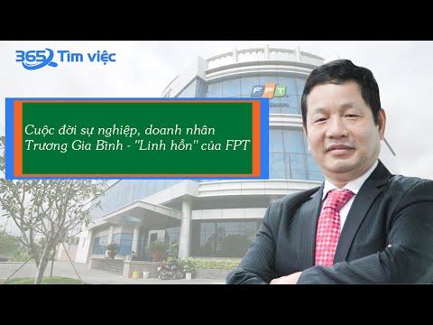 """Cuộc đời, sự nghiệp doanh nhân Trương Gia Bình - """"linh hồn"""" FPT"""