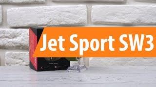 Распаковка смарт-часов Jet Sport SW3/ Unboxing Jet Sport SW3