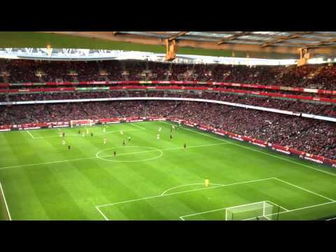 We love you chant by Palace fans at arsenal