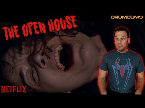 Drumdums Reviews THE OPEN HOUSE (Spoiler Talk After Rating!) + #SAVEHORRORTUBE