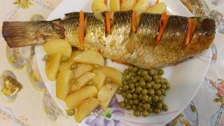 Как запечь рыбу в духовке - 4 пошаговых рецепта с фото и видео