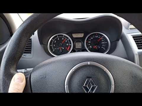 Renault Megane 2 Разгон до максимальной скорости.