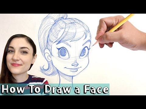 HOW TO DRAW A FACE! Tutorial w/ Chrissie Zullo