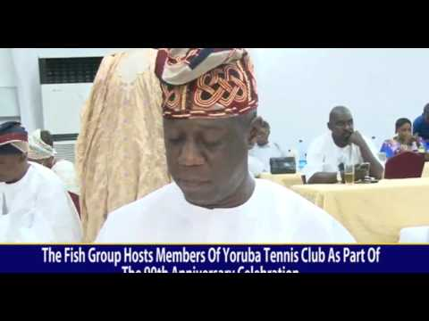 THE FISH GROUP HOST YORUBA TENNIS CLUB AS PART OF THEIR 90TH CELEBRATION ANNIVERSARY