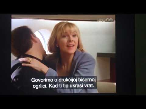 Sex And The City - Pearl necklace, Samantha Jones and Richard